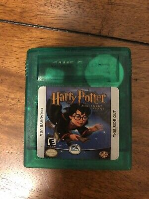 Harry Potter And The Sorcerers Stone Game Boy Color Original 2001 Tested