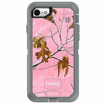 OtterBox DEFENDER SERIES Case for iPhone 8 & iPhone 7 (REALTREE XTRA PINK)