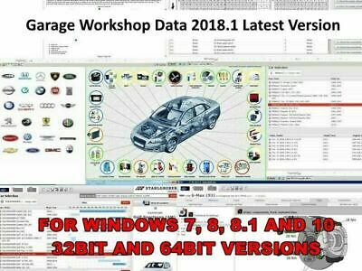 Garage Workshop AutoData Software New 2018.1 - Fast secure download - Mechanic