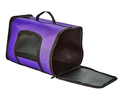 Kaytee Come Along Small Pets Carrier Purple Secure Comfortable Medium