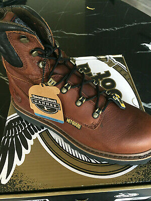 New in Box Georgia Boot Work Mens Hammer G8315 Brown Size 13 W