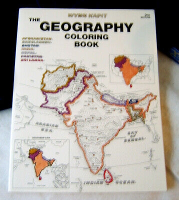 THE GEOGRAPHY COLORING Book [2nd Edition] - $5.96 | PicClick