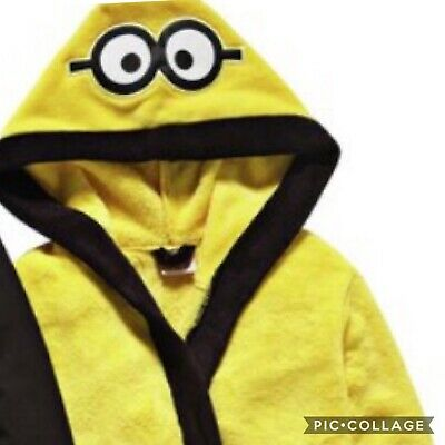 Minions robe only sale despicable me dressing gown only