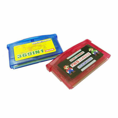 369/150 in 1 Game Cartridge Multicart fr GameBoy Advance NDS GBA SP GBM NDS NDSL