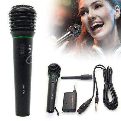 Professional Handheld Wireless/Wired Microphone Mic System For Church