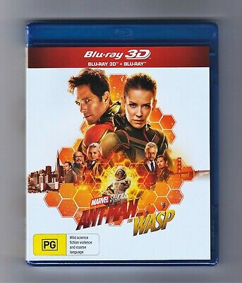 Ant-Man And The Wasp 3D Blu-ray + Blu-ray - Brand New & Sealed
