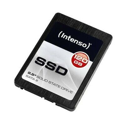 "Hard Disk Ssd Interno 120Gb Sata-Iii 2,5"" Intenso High 3813430 A Stato Solido"