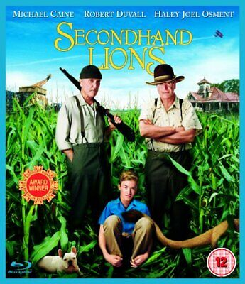 Secondhand Lions [Blu-ray] -  CD 9SVG The Fast Free Shipping