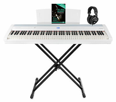 88-Tasten Digital Compact Piano Stage Set Layer Split Twinova Stagepiano Weiß