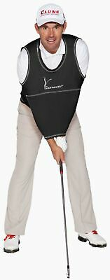 The Golf Swing Shirt Black #7 240-280 lbs Unisex Golf Training Aid Trainer
