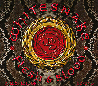 Whitesnake : Flesh & Blood CD Deluxe  Album Digipak with DVD 2 discs (2019)