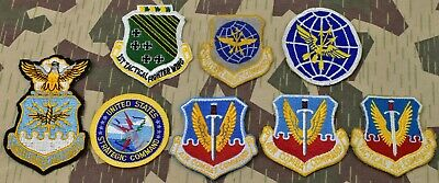 """USAF Air Force HQ AMC Air Mobility Command A3Y JED 3.75/"""" pocket patch"""