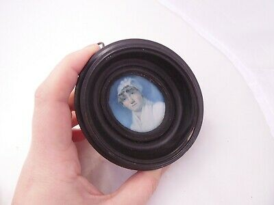 early 19th century of a lady, Miss Winifred Sandy framed