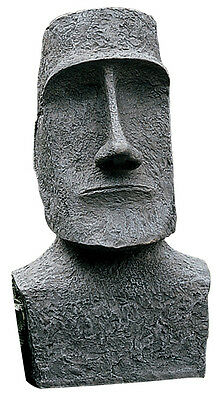 Easter Island Moai Monolith Face Head Statue Sculpture replica reproduction