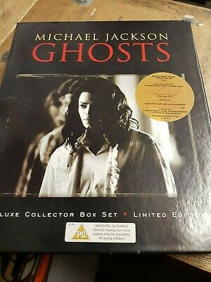 Michael Jackson Deluxe Collector Ghosts Box Set Limited Edition Complete