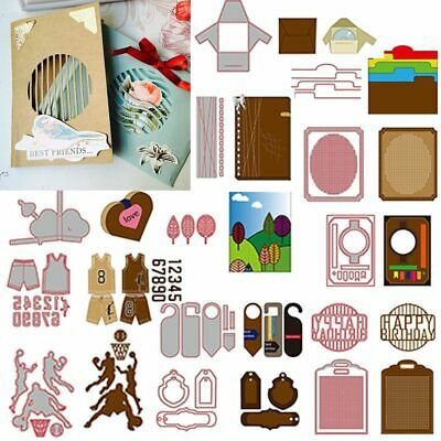 Cards Making DIY Cutting Dies Embossing Stencil Photo Album Decor Scrapbooking