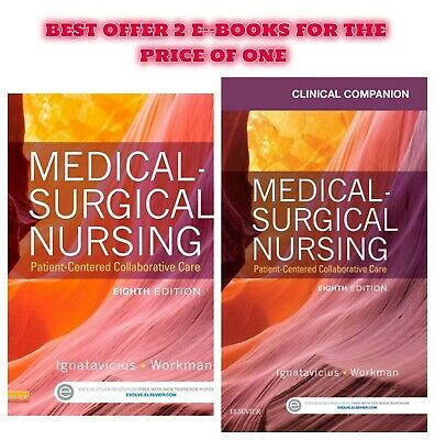 Medical-Surgical Nursing Patient-Centered Collaborative Care 8th Edition P-D-F +