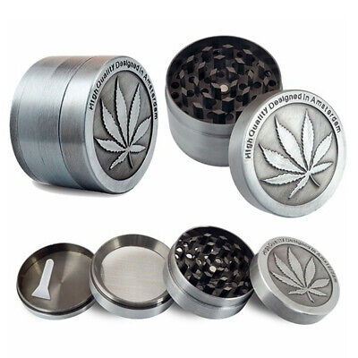 JT_ Leaf 3 4 Layers Zinc Alloy Tobacco Crusher Hand Muller Smoke Herb Grinder