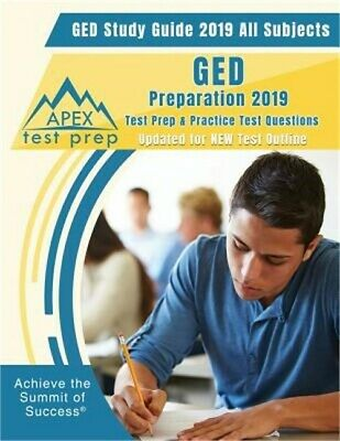 GED Study Guide 2019 All Subjects: GED Preparation 2019 Test Prep & Practice Tes