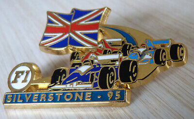 Pin's F1 Formula One Williams Ferrari Benetton Gp Silverstone 95 Zamac Jfg Miami