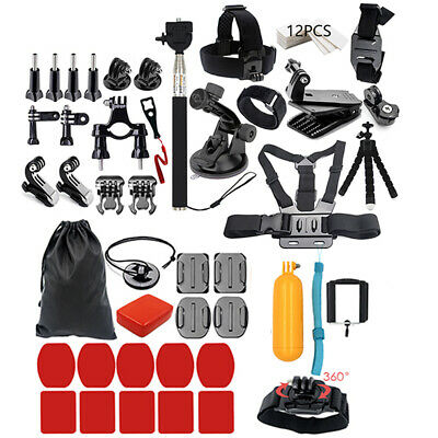 44 in 1 Camera Outdoor Photography Tools for Go pro Hero Xiaomi Yi SJ CAM C6H0