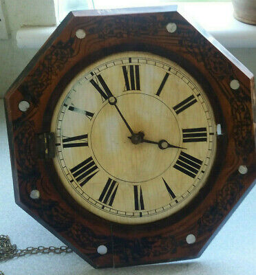Vintage / Antique Postmans Alarm - Waggity Wa - Wall Clock - Spares Repairs