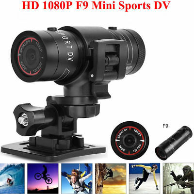 Motor Bike Motor Cycle Action F9 Helmet Sports Camera Cam Full Hd 1080P Ait 5653