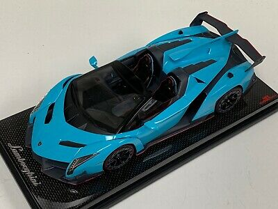Mr Models 1 18 Baby Blue Lamborghini Huracan Lp610 4 Spyder With