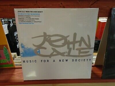 John Cale Music For A Society LP NEW 180g vinyl + download 8th Album New Wave