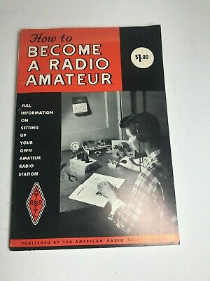 How To Become A Radio Amateur Book By Arrl 1964 (A007)