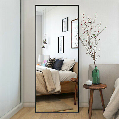FULL LENGTH MIRROR Bedroom Floor Mirror Standing Hanging Large Wall ...