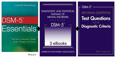 DSM-5 Diagnostic and Statistical Manual of Mental Disorders 5th Edition +2 More