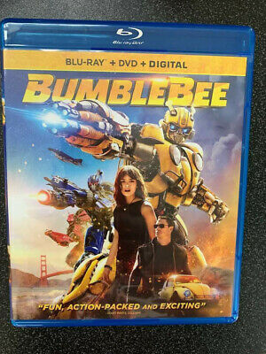 Bumblebee 2019 BLU-RAY ONLY+Case+Artwork No DVD/Digital SAVE$$$ Combine Shipping