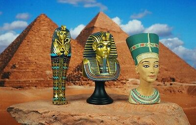Egypt Egyptian Civilization Pyramid Pharaoh King Tut Nefretiti Mummy K1166 ABC