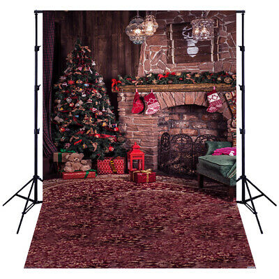Andoer 1.5*2 meters / 5*7 feet Christmas Holiday Theme Background Photo Z5Z0