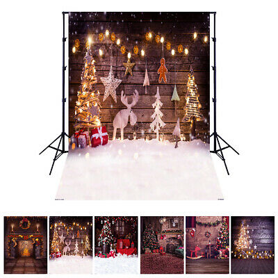 Andoer 1.5*2 meters / 5*7 feet Christmas Holiday Theme Background Photo H9X0