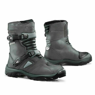 New Forma Adventure Low motorcycle boots mens grey unboxed adv road riding