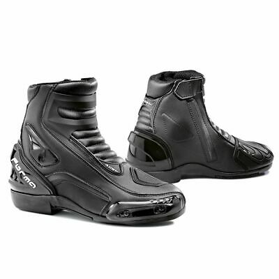 New Forma Axel motorcycle boots mens black women sports street road track gear