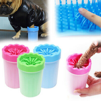 Portable Dog Paw Cleaner Clever Dog Feet Washer,Pet Paw Washer with Towel