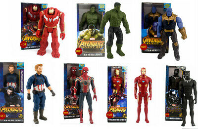 30  CM Decor Marvel The Avengers Superheld Spiderman Action Figuren Spielzeug