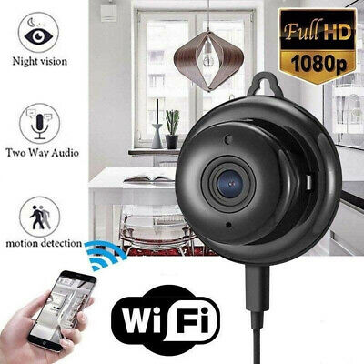 Wireless Mini WIFI IP Camera HD 1080P Smart Home Security Camera Night Vision UK
