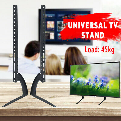 "26-75"" Universal Table Top TV Stand Base Mount LED LCD Flat TV Screen Bracket"