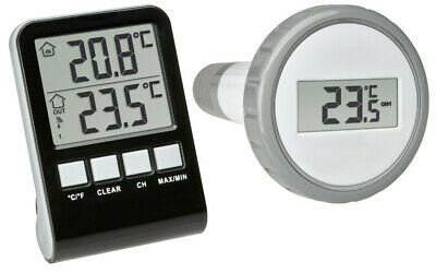 Funk Poolthermometer Palma Tfa 30.3067.10 Pool Teich Schwimmbadthermometer 433