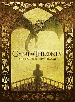 Game of Thrones Season 5 DVD New & Sealed Boxset Region 2 Fast & Free Delivery