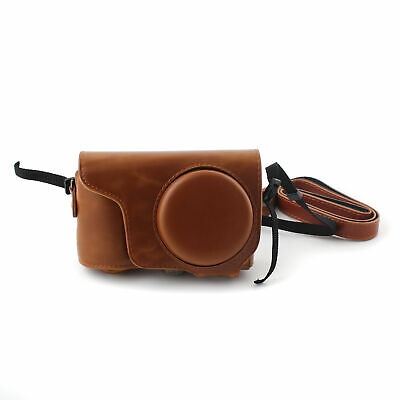 Leather PU Camera Bag Cover with Strap for Samsung Galaxy EK-GC100 GC11 BR