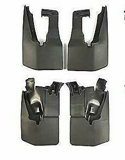 4 X Vw Crafter Mudflaps Spalsh Guards Front & Rear Left & Right 2006-2014