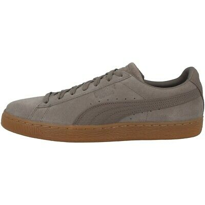 PUMA SUEDE CLASSIC Natural Warmth Lace Up Mens Trainers Falcon 363869 01 U1