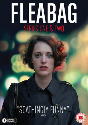 Fleabag: Series One & Two DVD (2019) Olivia Colman cert 15 2 discs ***NEW***