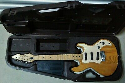 1982 Peavey T-30 Natural Electric Guitar USA Made with Original Case