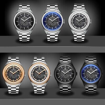 PAGANI DESIGN Stainless Steel Automatic Self-Wind Mechanical Watch for Men